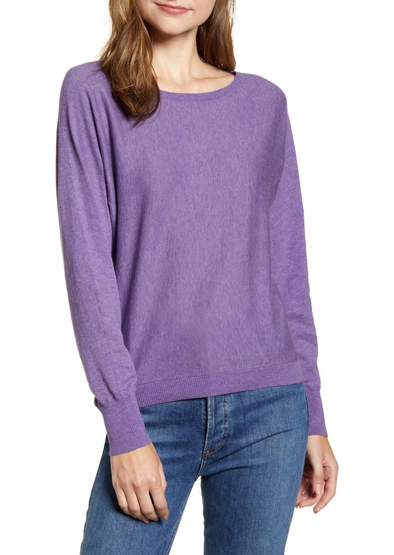 Velvet by Graham & Spencer Lux Cotton Sweater