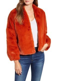 Velvet by Graham & Spencer Lux Faux Fur Jacket