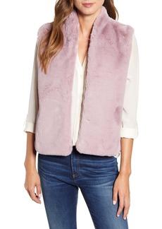 Velvet by Graham & Spencer Lux Faux Fur Vest