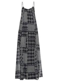 Velvet By Graham & Spencer Mali geometric-print maxi dress