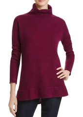 Velvet by Graham & Spencer Merrit Turtleneck Cashmere Sweater