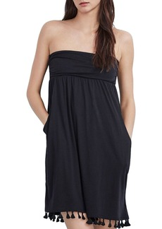 Velvet by Graham & Spencer Monique Tassel Strapless Dress