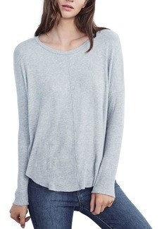 Velvet by Graham & Spencer Myla Rib-Knit Tee