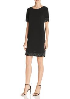 Velvet by Graham & Spencer Nailhead Stretch Jersey Dress