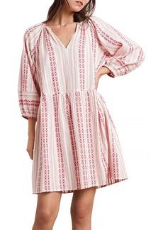 Velvet by Graham & Spencer Nona Cotton Printed Peasant Dress