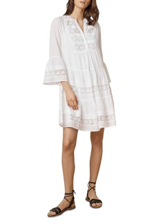 Velvet by Graham & Spencer Nuria Bell Sleeve Tiered Dress