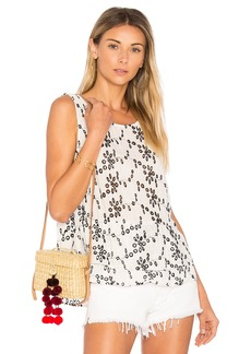 Velvet by Graham & Spencer Patricia Eyelet Tank