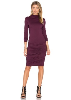 Velvet by Graham & Spencer Pietro Turtleneck Midi Dress