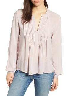 Velvet by Graham & Spencer Pintuck Blouse