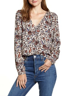 Velvet by Graham & Spencer Printed Blouse