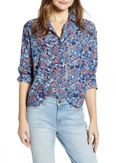 Velvet by Graham & Spencer Printed Popover Shirt