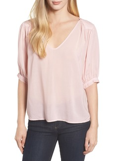 Velvet by Graham & Spencer Puff Sleeve Blouse