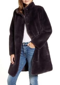 Velvet by Graham & Spencer Reversible Faux Shearling Coat
