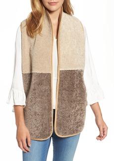 Velvet by Graham & Spencer Reversible Faux Shearling Vest