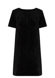 Velvet By Graham & Spencer Reya faux-suede dress