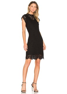 Velvet by Graham & Spencer Sarah Mini Dress in Black. - size L (also in M,S,XS)