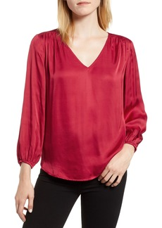 Velvet by Graham & Spencer Satin Blouse