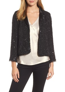 Velvet by Graham & Spencer Sequin Jacket