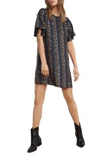 Velvet by Graham & Spencer Sequin Shift Dress