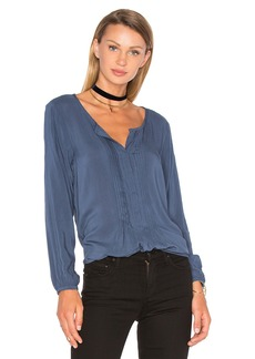 Velvet by Graham & Spencer Shea Long Sleeve Blouse