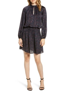 Velvet by Graham & Spencer Sonoma Shirred Waist Satin Dress