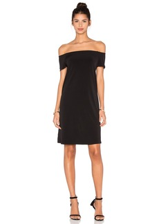 Velvet by Graham & Spencer Sorana Stretch Jersey Off The Shoulder Dress