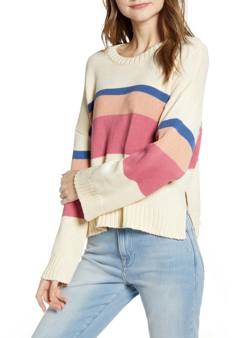Velvet by Graham & Spencer Stripe Sweater