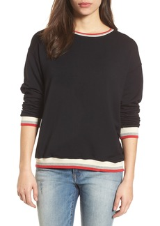 Velvet by Graham & Spencer Stripe Trim Pullover