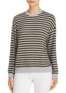 Velvet by Graham & Spencer Striped Crewneck Sweater