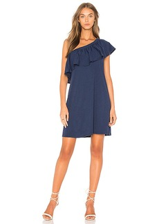 Velvet by Graham & Spencer Tahlia Dress in Navy. - size L (also in M,S,XS)