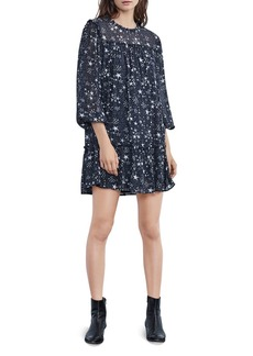 Velvet by Graham & Spencer Taya Ruffled Star Print Dress
