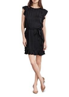 Velvet by Graham & Spencer Tenley Belted Ruffle Dress