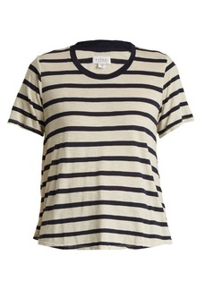 Velvet By Graham & Spencer Tiana striped jersey top