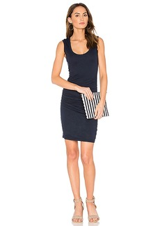 Velvet by Graham & Spencer Varella Tank Dress in Navy. - size S (also in M,XS)