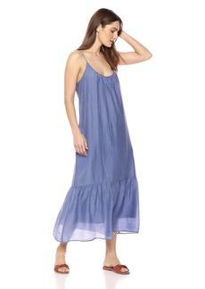Velvet by Graham & Spencer Women's Abara Silk Cotton Voile Dress  M