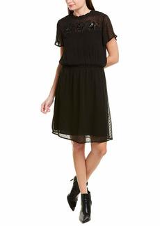 Velvet by Graham & Spencer Women's Aberdine Swiss dot Dress  M