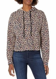 Velvet by Graham & Spencer Women's Adora Leopard Hoodie  S