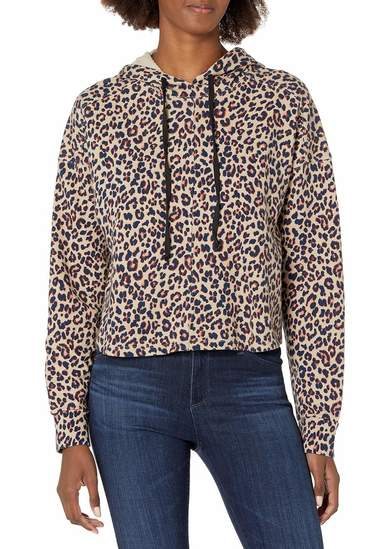 Velvet by Graham & Spencer Women's Adora Leopard Hoodie  M