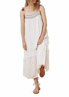 Velvet by Graham & Spencer Women's Aira Embroidered Gauze Dress  M