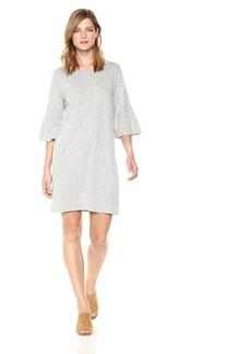 Velvet by Graham & Spencer Women's Annabelle Ruffle Sleeve Tee Dress  M