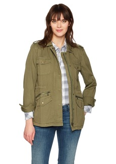VELVET BY GRAHAM & SPENCER Women's Army Jacket  Petite