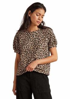 Velvet by Graham & Spencer Women's Ashlyn Leapord Fleece top  XL