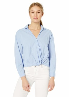 Velvet by Graham & Spencer Women's Astrid Cotton Shirting top  XS