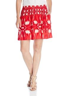 Velvet by Graham & Spencer Women's Atlantis Print Skirt