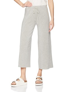 VELVET BY GRAHAM & SPENCER Women's Avalyn Soft Fleece Wide Leg Pant  S