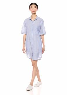 Velvet by Graham & Spencer Women's Bayla pintripe Dress  L