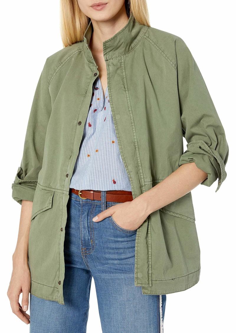 Velvet by Graham & Spencer Women's Becky Cotton Twill Jacket  M