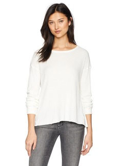 Velvet by Graham & Spencer Women's Buzzie Baby Thermal Long Sleeve  M
