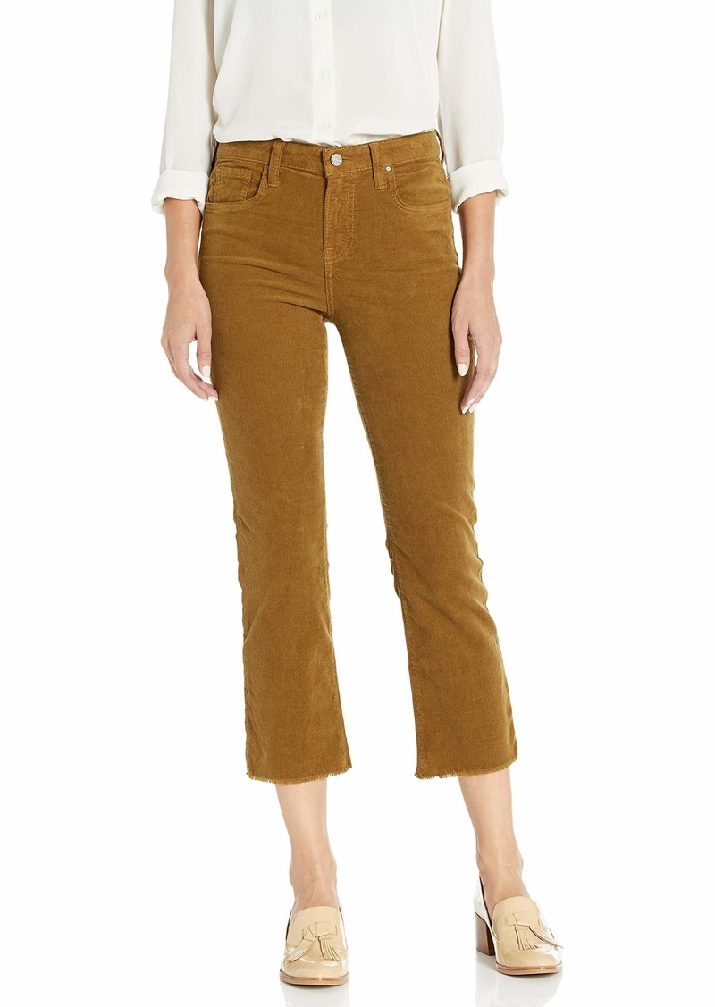 Velvet by Graham & Spencer Women's Candace Corduroy high Rise Crip Pant