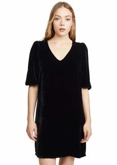 Velvet by Graham & Spencer Women's Carissa Silk Velvet Dress